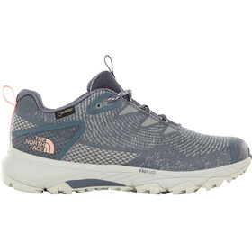 The North Face Ultra Fastpack III GTX Woven Shoes Women grisaille grey/pink salt